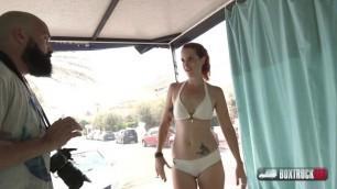 Irina Vega - young slut fucking BoxTruckSex