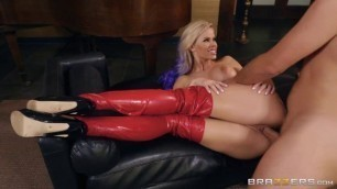 Hot Blonde Jessa Rhodes Lovely In Latex BabyGotBoobs Brazzers