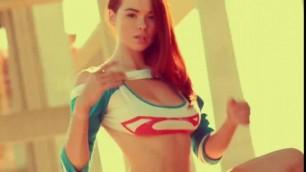 Gorgeous Redhead Teen SABRINA LYNN nude #1