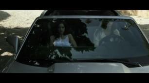 Malena and Rilee Lesbian Car Sex