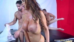 fucked hard Dani Daniels Nikki Benz Two hot brunettes