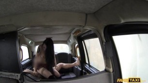 Alessa Savage Sexual Girl - Lady In Stockings Gets Creampied Fake Taxi