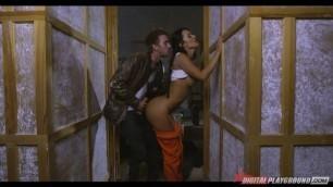 Franceska Jaimes Brunette has sex Blowback 2