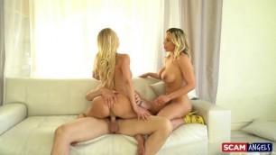 ScamAngels Brandi Love, Olivia Austin Real Estate Scam Threesomes porn