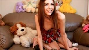 Chloe Night - chloenight cute school girl squirts for you