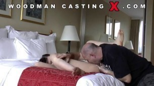 Another wild hard spanking from Pierre Woodman with juicy student in the hotel
