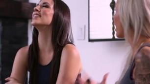 Nina Elle meets lesbian sister Jelena Jensen