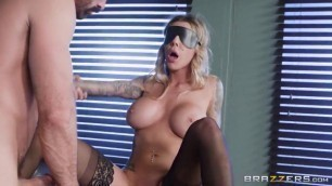 BrazzersExxtra Wonderful Blonde Karma RX Stocks And Bonds Age