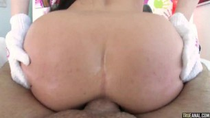 Insatiable Brunette Whitney Wright Anal the Wright Way TrueAnal