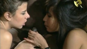 united colors of sex sexy paints have interracial sex capucine laroche and vanessa dangely